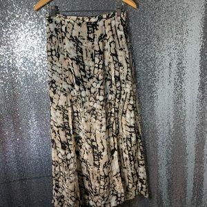 Sheer long skirt